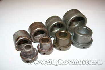 Насадки для разных диаметров свариваемых труб