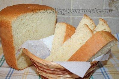 Рецепт хлеба для выпечки в домашней духовке