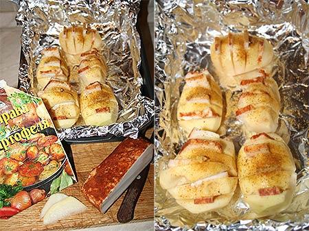 Картофель в фольге в духовке рецепт