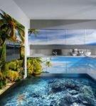 Наливной пол 3D