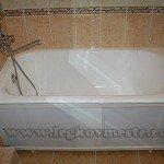 Как установить ванну без привлечения сторонних специалистов.