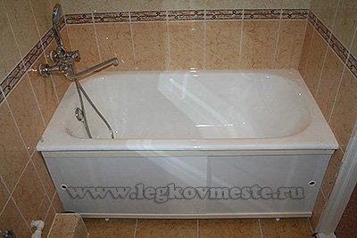 Ванная установка своими руками 271