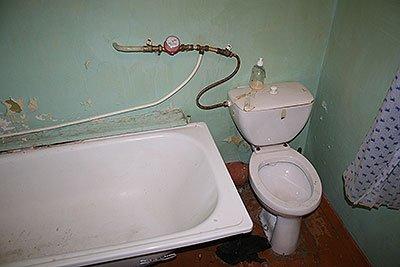 Как не надо размещать сантехнику в ванной комнате