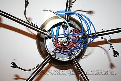 Соединяем нулевые провода