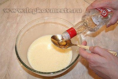 Хворост рецепт - добавляем водку