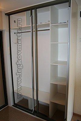 как сделать шкаф купе своими руками в домашних условиях пошаговая