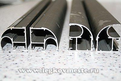 Вертикальный профиль обрамления дверей (ручки дверей)