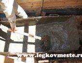 Как замесить бетон своими руками