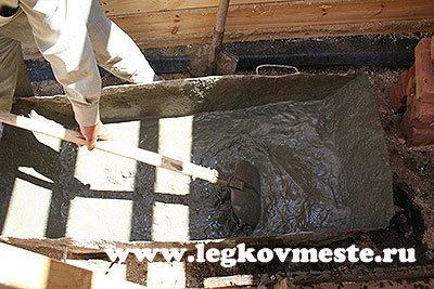 Чистый бетон своими руками