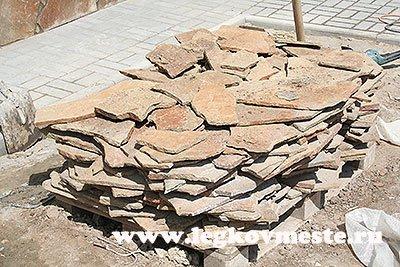 Натуральный камень для отделки цоколя здания