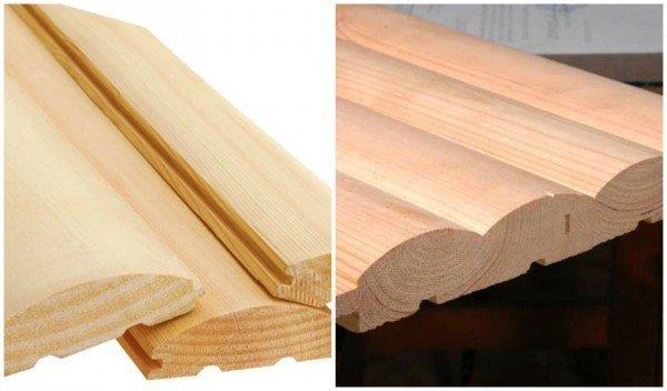 блокхаус деревянный профиль