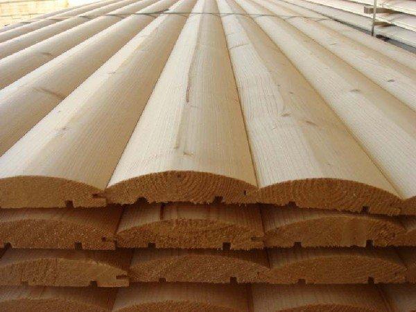 блокхаус деревянный
