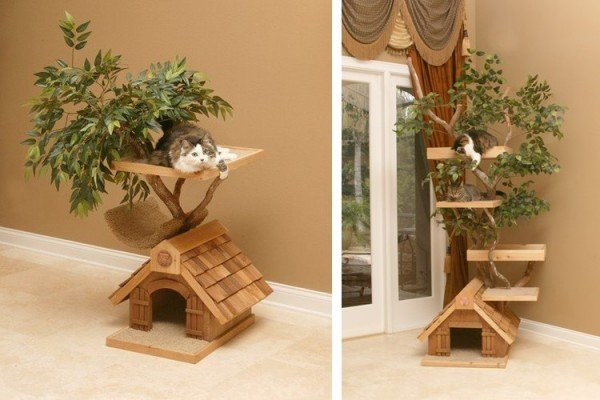 кошачьи домики для кошек