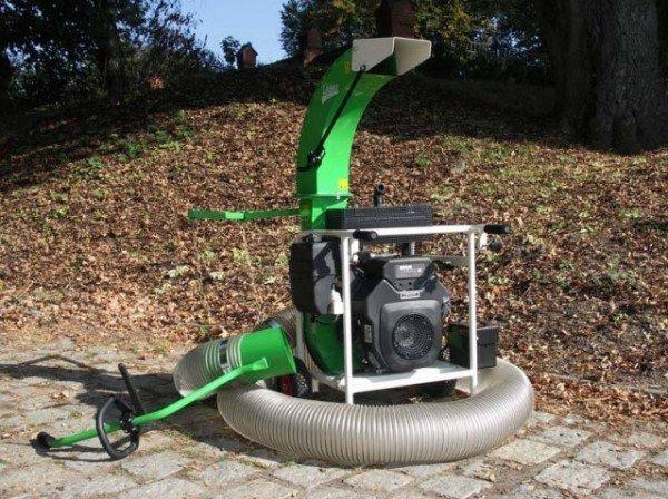 устройства для уборки садового мусора