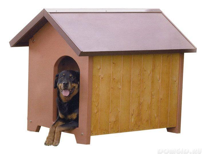 Конура для собаки своими руками видео фото 940