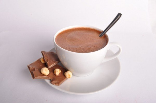 горячий шоколад домашний