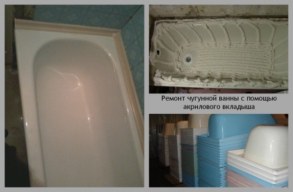 Реставрация старой ванны