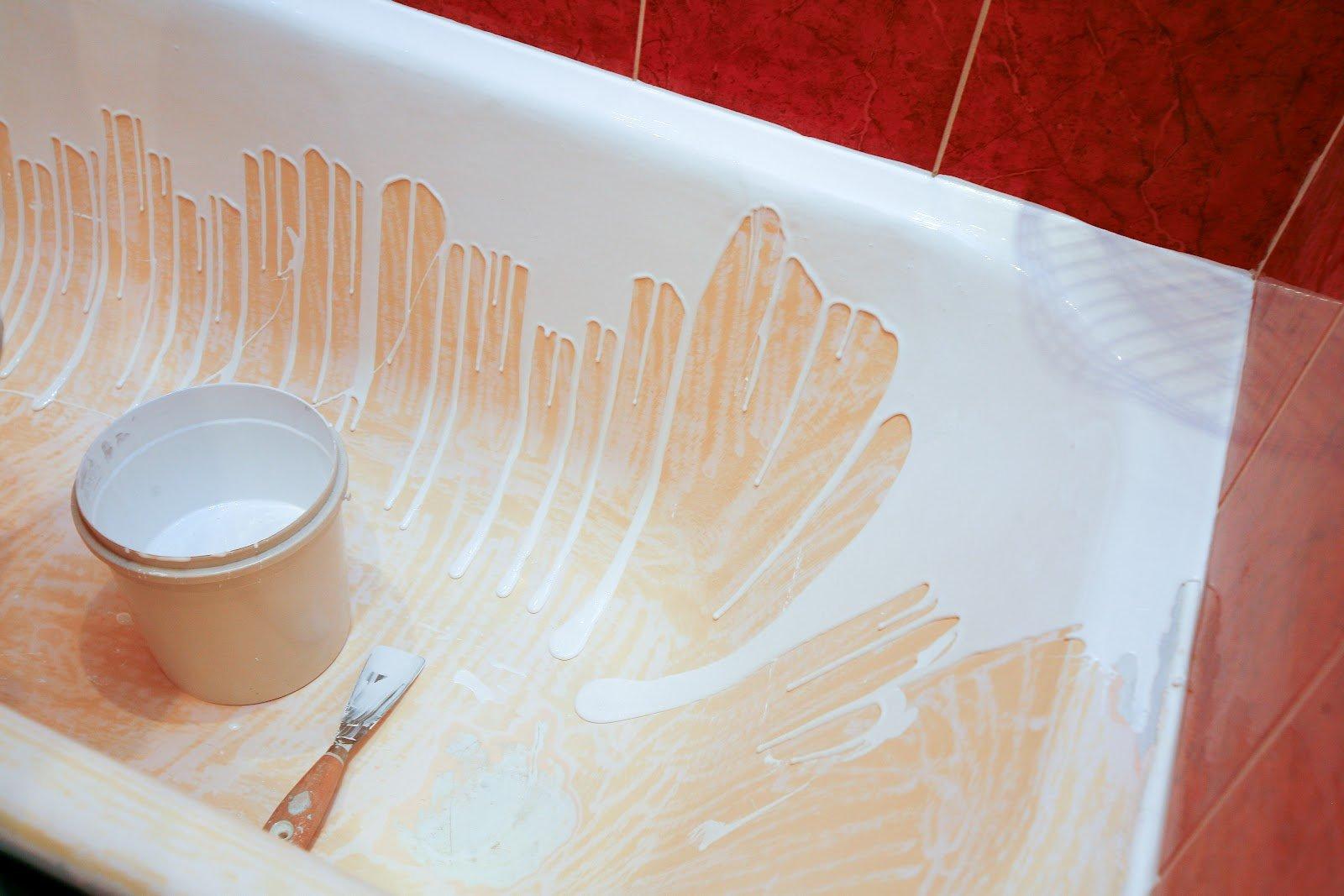 Ремонт трещины в акриловой ванне своими руками