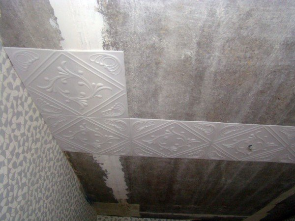потолочная плитка фото