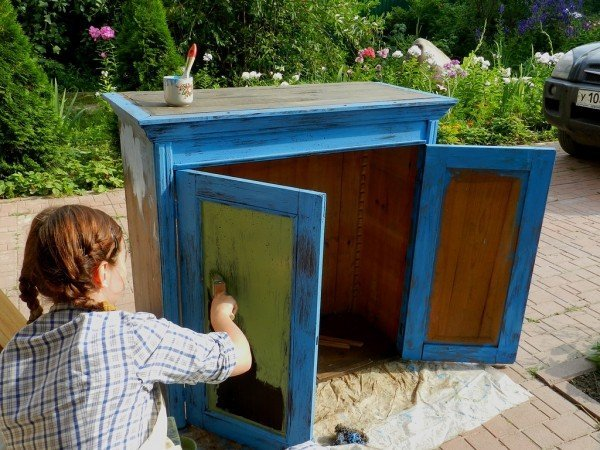 в какой цвет покрасить мебель