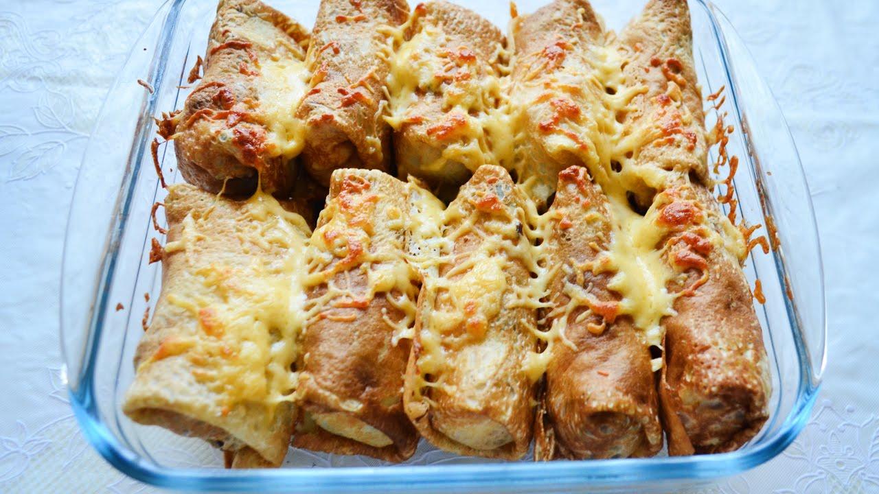 блинчики с картошкой и сыром рецепт