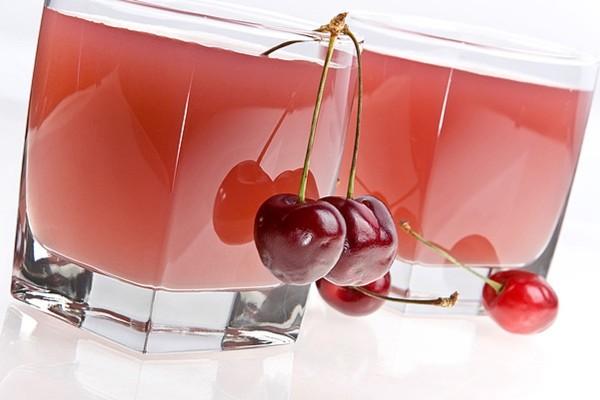 кисель из замороженной вишни