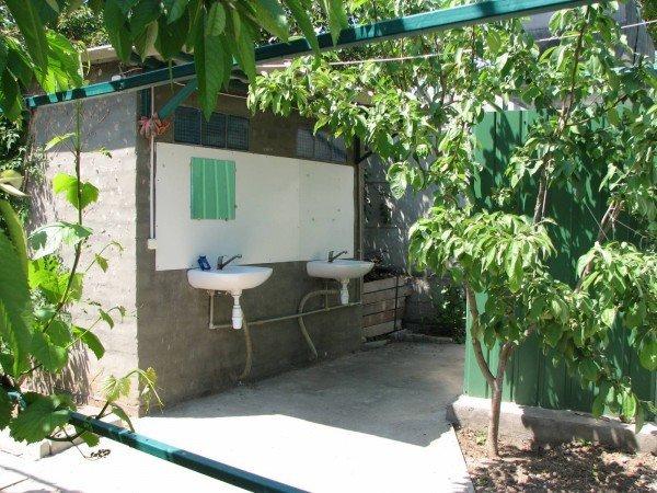 садовые умывальники