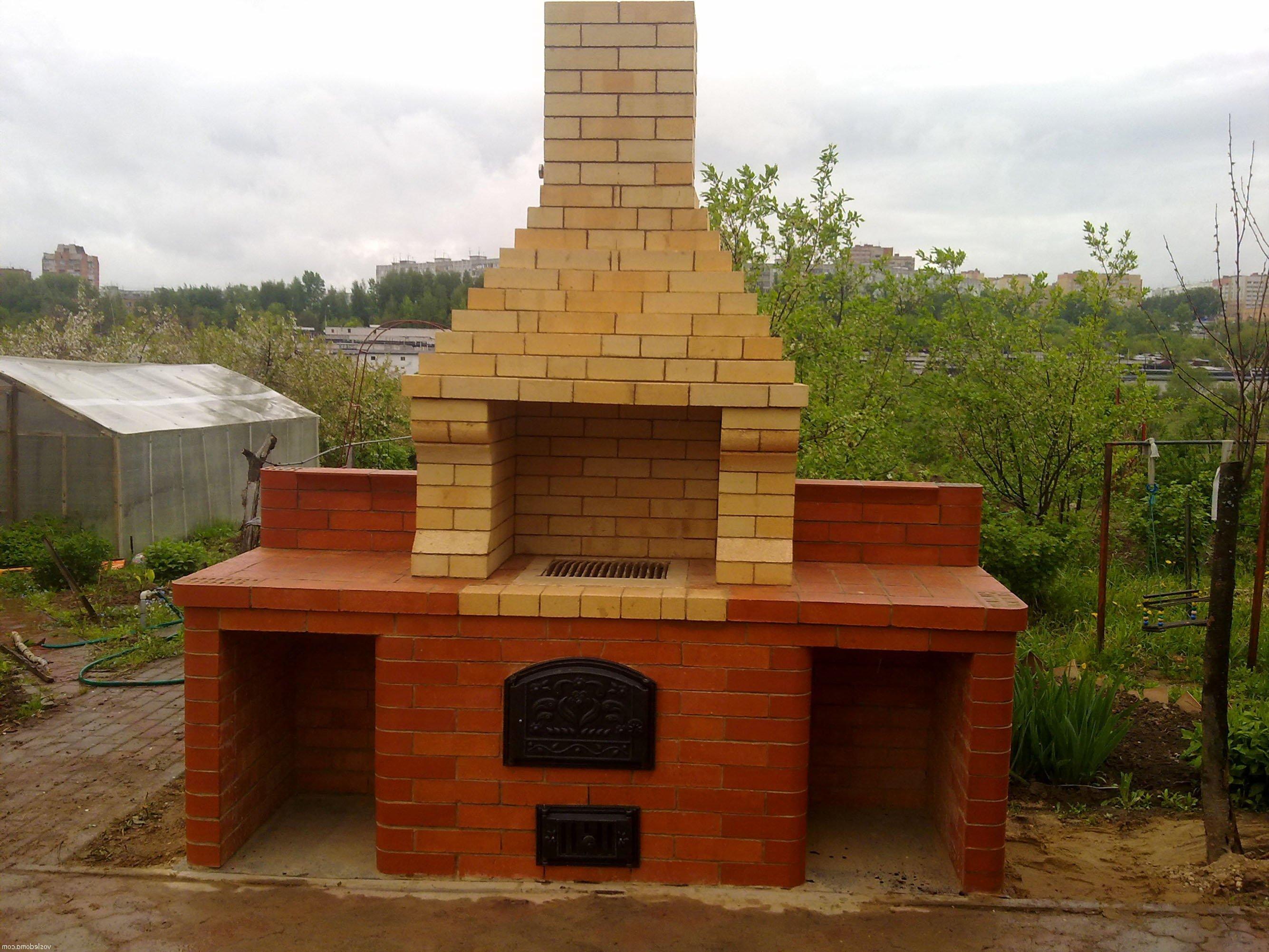 Строим барбекю на даче своими руками