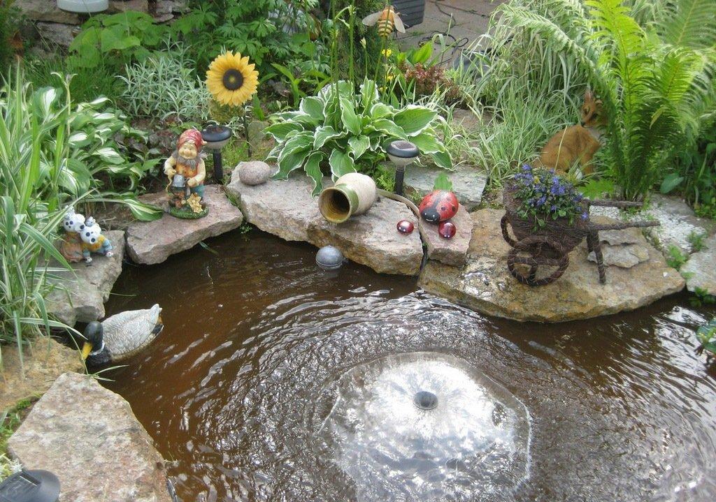 Как сделать водоем во дворе своими руками 28