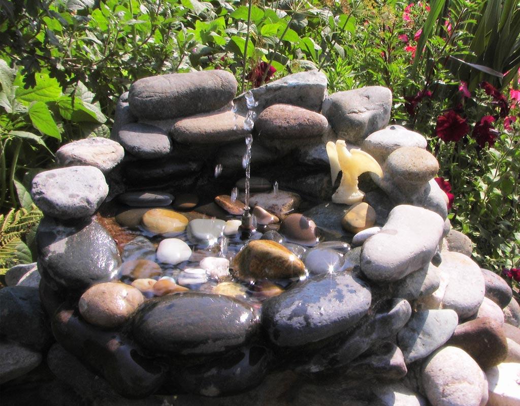Декоративный водоем своими руками фото 16