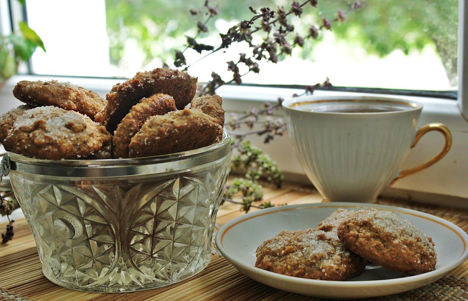 постное овсяное печенье рецепт с фото город