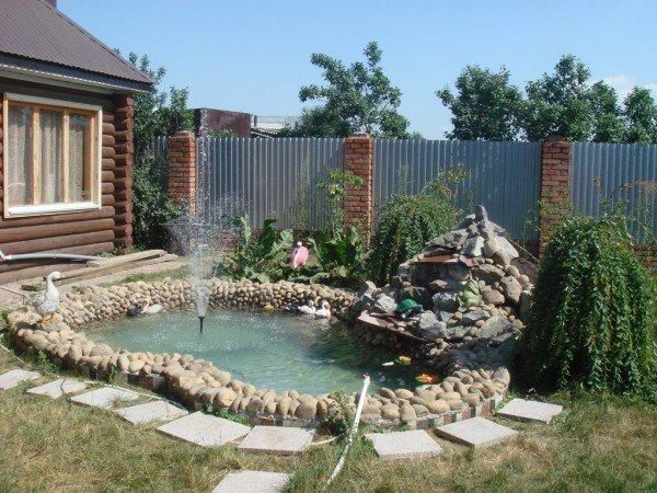 фонтан садовый своими руками