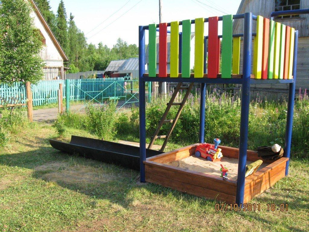 Идеи для дачи детской площадки своими руками