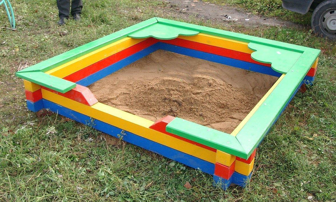 Песочница построить своими руками 172
