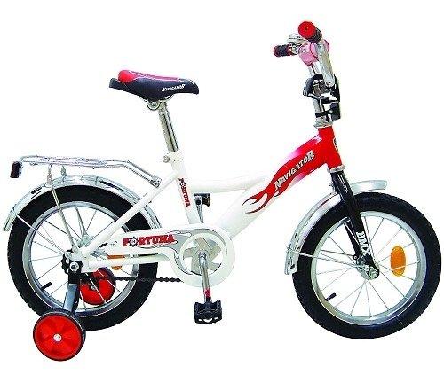 Двухколёсный велосипед с навесными колёсиками