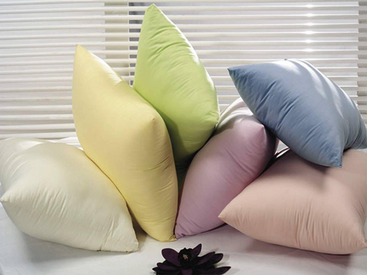 Как в домашних условиях сделать пуховую подушку