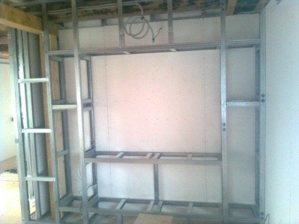 короб двухуровневого потолка