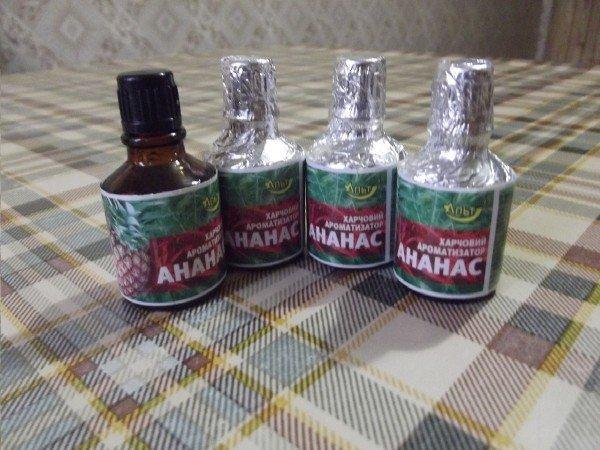 Ананасовые ароматизаторы