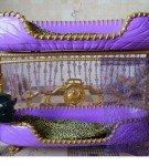 Двухъярусная гламурная кровать для Клодин