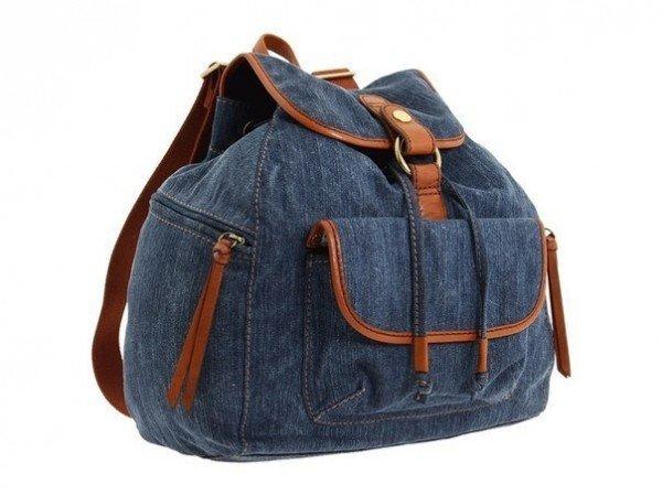Рюкзак детский из старых джинсов своими руками выкройки