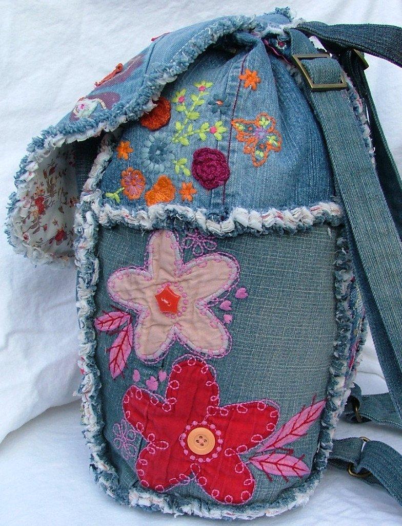 Декорирование рюкзака своими руками