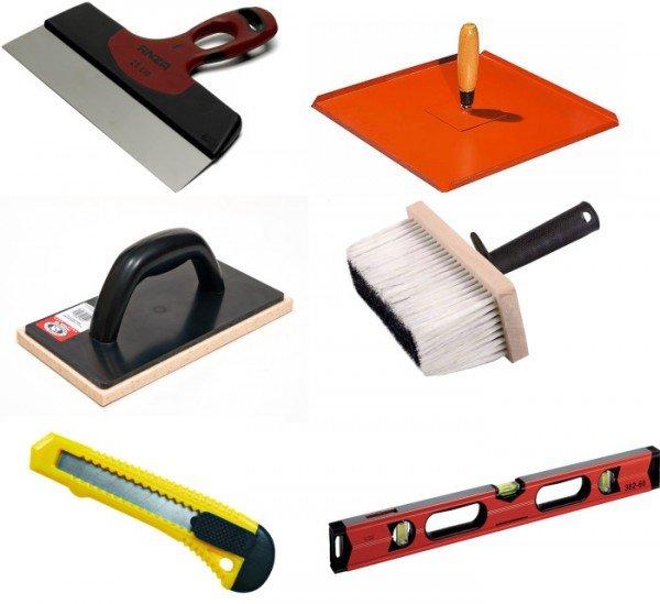инструменты для заделки швов между листами гипсокартона