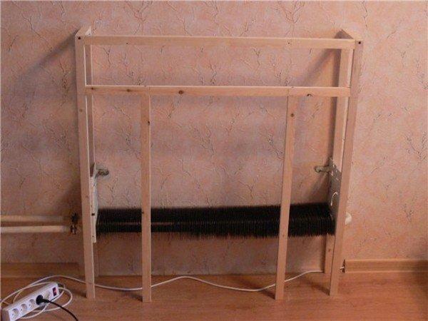 Fireplace frame