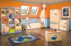 Детская комната в стиле путешественника