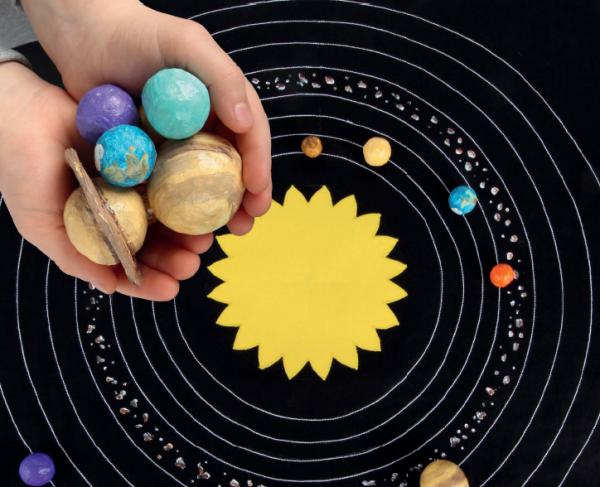Игровой коврик Солнечная система