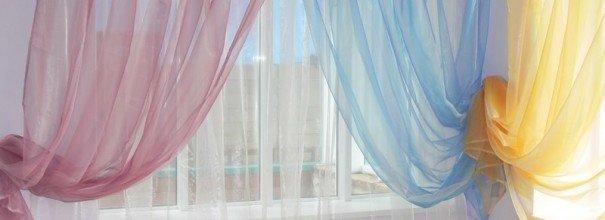 Советы по правильной стирке разных видов штор