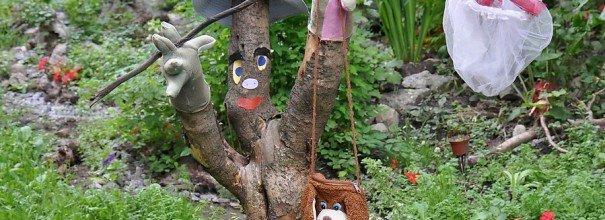 Видео как украсить сад 191