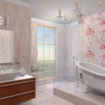 Облицовка стен керамической плиткой в ванной комнате своими руками