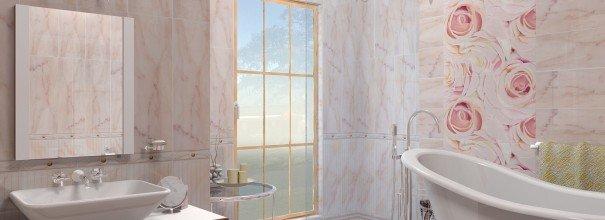 Облицовка стен керамической плиткой в ванной комнате своими руками.