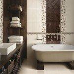 Сделайте правильный выбор керамической плитки в ванную комнату